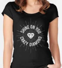 Shine On You Crazy Diamond Women's Fitted Scoop T-Shirt