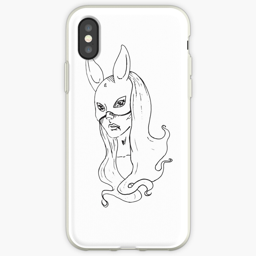 Bunny Mask iPhone Cases & Covers