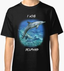 SPOTTED BOTTLENOSE DOLPHIN B Classic T-Shirt