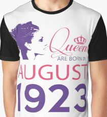 It's My Birthday 95. Made In August 1923. 1923 Gift Ideas. Graphic T-Shirt