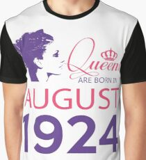 It's My Birthday 94. Made In August 1924. 1924 Gift Ideas. Graphic T-Shirt