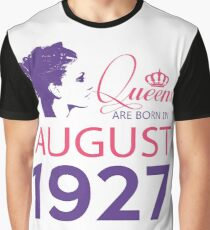 It's My Birthday 91. Made In August 1927. 1927 Gift Ideas. Graphic T-Shirt