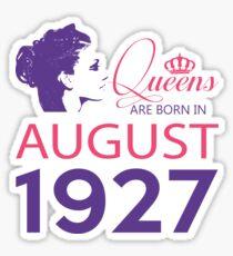 It's My Birthday 91. Made In August 1927. 1927 Gift Ideas. Sticker