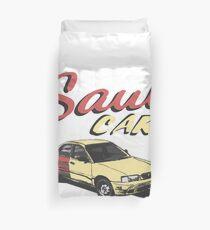 Saul car Duvet Cover