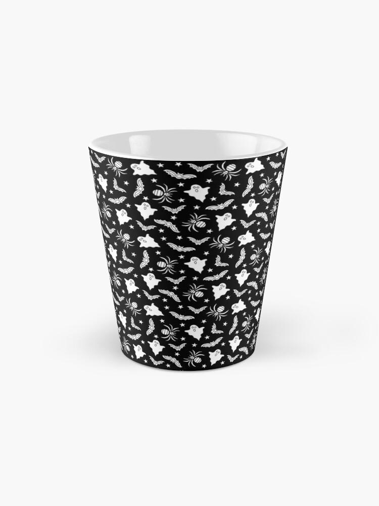 Alternate view of Spooky Halloween pattern Mug
