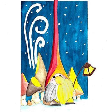 Christmas Card - Tomten by StudioColrouphobia