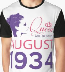 It's My Birthday 84. Made In August 1934. 1934 Gift Ideas. Graphic T-Shirt