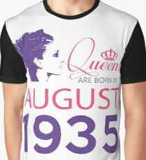 It's My Birthday 83. Made In August 1935. 1935 Gift Ideas. Graphic T-Shirt