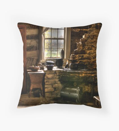 OLD TIME COOKING Throw Pillow