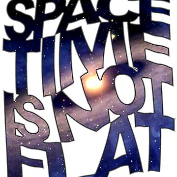 Space Time Is Not Flat by thesamba