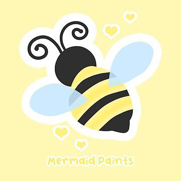 Cute Little Bee by mermaidpaints