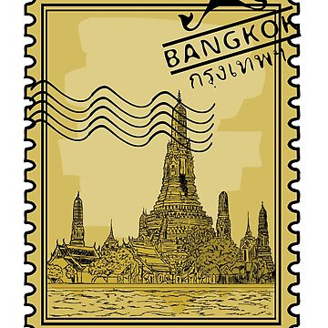 Bangkok Stamp by pda1986