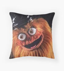 "Flyers New Mascot ""Gritty"" Throw Pillow"