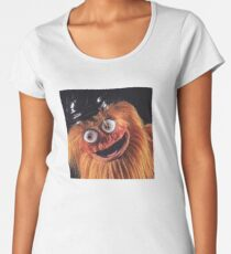 "Flyers New Mascot ""Gritty"" Women's Premium T-Shirt"