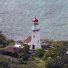 Lighthouse, Diamondhead, HI USA by Dennis Cheeseman