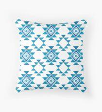 Turquoise Aztec Floor Pillow