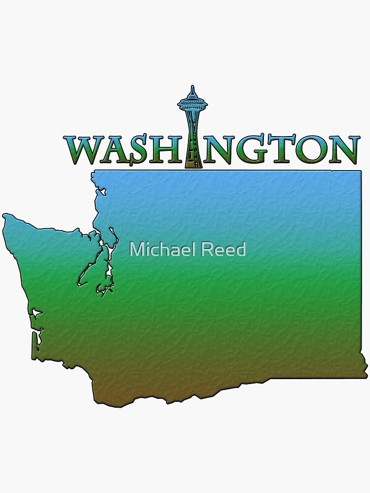 Washington State Gliederung von gorff