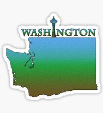 Washington State Gliederung Sticker