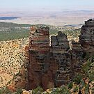 Towering Layers of the Grand Canyon by Julia Washburn