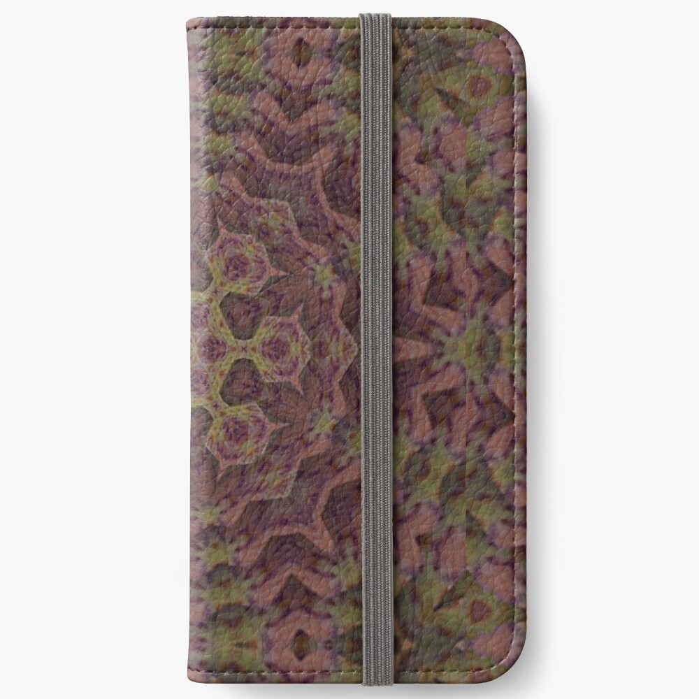 Alien Bacteria from the Black Lagoon of Space iPhone Wallet