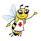 Nurse Bee by Chuck Whelon