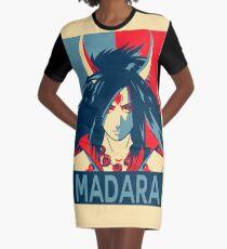 Madara Hope Poster Naruto Graphic T-Shirt Dress