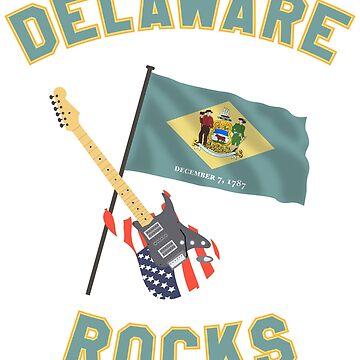 Delaware rocks by klausklatt
