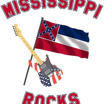 Mississippi rocks by klausklatt