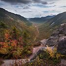 Fall in Crawford Notch, New Hampshire by mattmacpherson