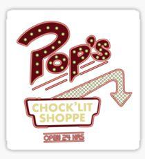 Riverdale- Pop's Chocolate Shop Sticker