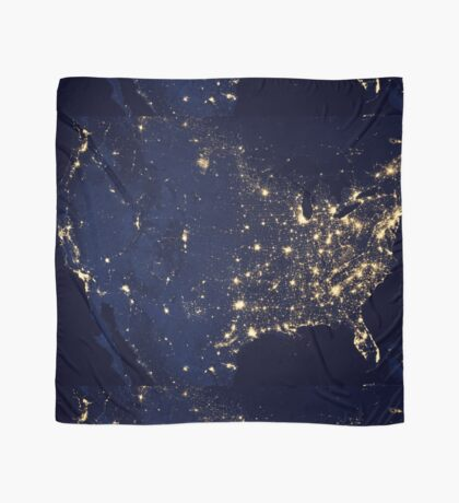 USA by Night Scarf