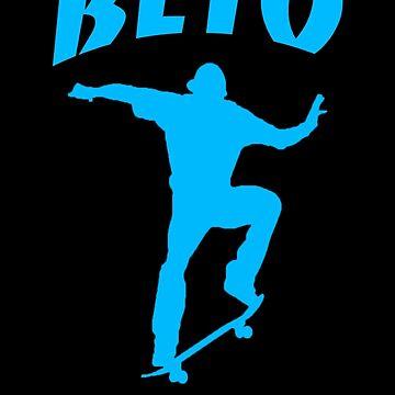 Beto O'Rourke Flip Texas Blue by Thelittlelord