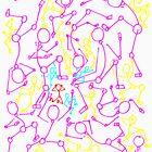 The stickman's scream 1 by mwesselcreative