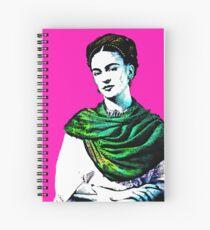 Frida Kahlo Picture Spiral Notebook