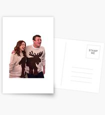 Passende Lilie und Marschall Postkarten