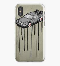 Delorean Drip iPhone Case/Skin