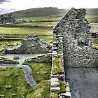 Jarlshof and Castle Ruins by Larry Davis