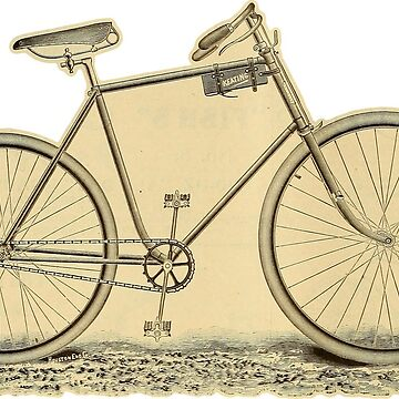 Old time bike from 1893 by Lowtech