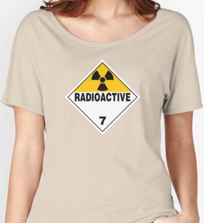 Radioactive Warning Sign Relaxed Fit T-Shirt