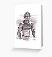 Daniel Craig - James Bond Greeting Card
