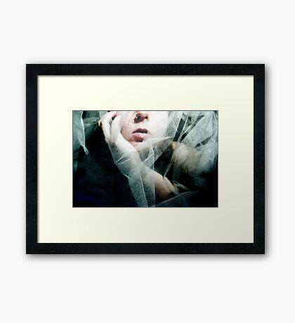 always the bridesmaid... Framed Print