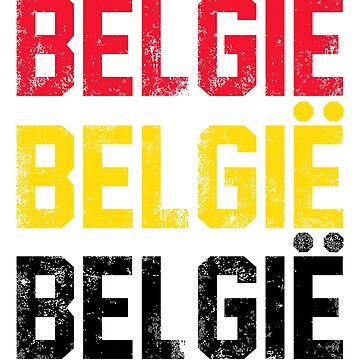Belgian Flag Design 2 by BOBSMITHHHHH