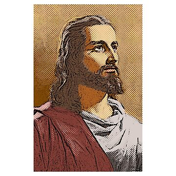 Jesus Christ Portrait by JayBakkerArt