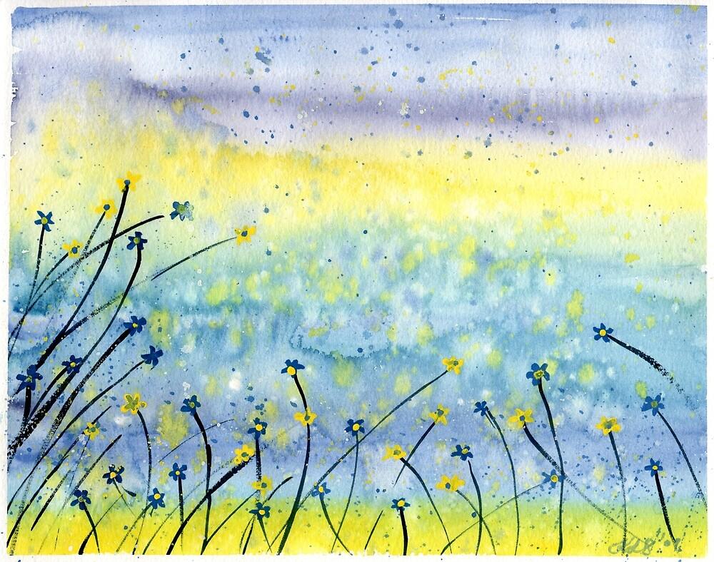 Summer Field by klbailey