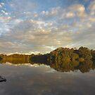 Rainforest and Amazon Lake - La Selva, Ecuador by citrineblue