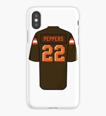 timeless design f24e6 b7aa7 Jabrill Peppers iPhone cases & covers for XS/XS Max, XR, X ...
