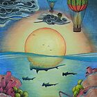 Hot Air Balloon-Balloon Journey-Hammerhead Reef by Heathermarie321