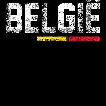 Belgian Flag Design 1 by BOBSMITHHHHH