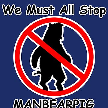 MANBEARPIG (South Park) (Al Gore) by JayBakkerArt