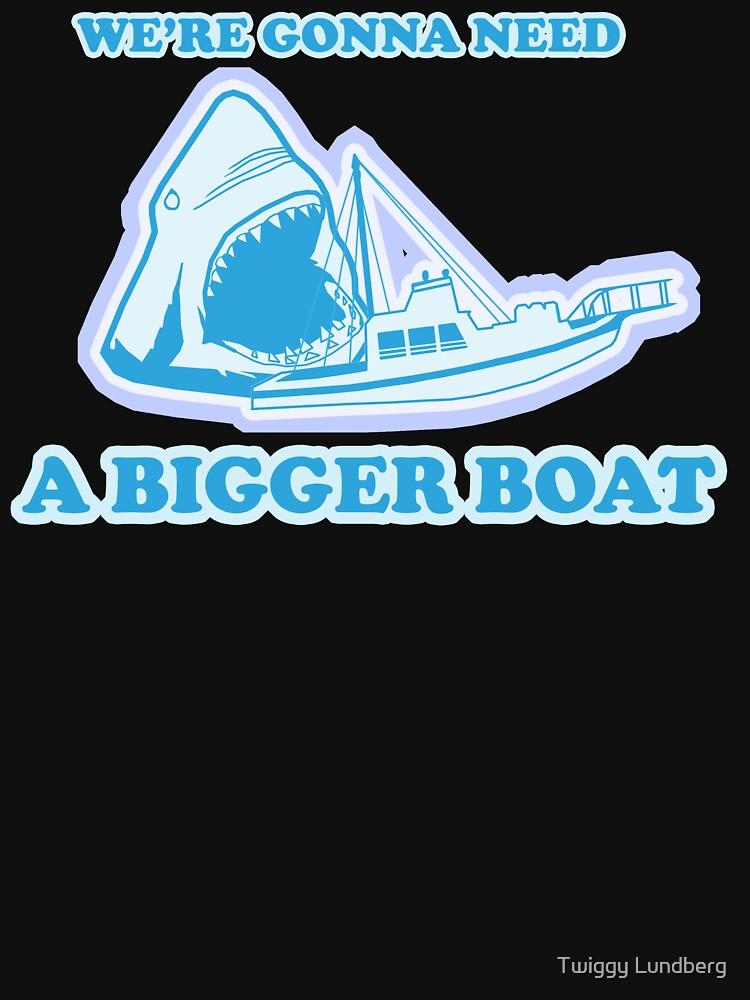 We're Gonna Need A Bigger Boat by JayBakkerArt